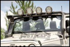 Rugged Ridge Light Bar Lowering Kit For 2007-18 Jeep Wrangler JK 2 Door & Unlimited 4 Door Models 11232.22