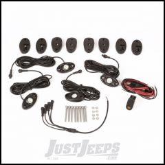 Rugged Ridge White LED Rock Light Kit With 4 LED Lights, Harness & Switch For 2007+ Jeep Wrangler JK/JL 2 Door & Unlimited 4 Door Models 11232.40