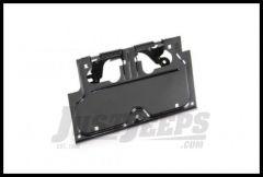 Rugged Ridge License Plate Bracket Black 87-95 Wrangler YJ 11233.01