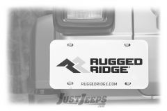 Rugged Ridge Magnetic License Plate Holder 11238.08