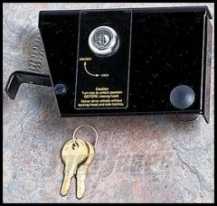 Rugged Ridge Hood Lock Kit 72-86 CJ Series 11252.01