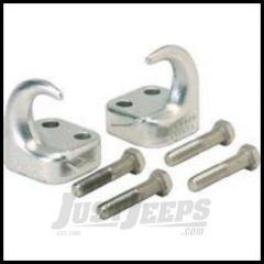 Rugged Ridge Front Tow Hooks Chrome For 1997-06 TJ Wrangler 11303.01