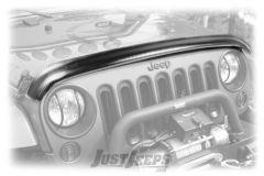Rugged Ridge Bug Deflector In Carbon Fiber Finish For 2007-18 Jeep Wrangler JK 2 Door & Unlimited 4 Door Models 11348.03