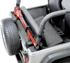 Quadratec Sport Cage Hi-Lift Jack Mount for 92-95 Jeep Wrangler YJ 92200.9003