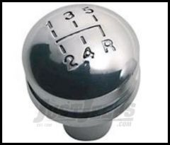 Rugged Ridge Billet Shift Knob with Shift pattern For 1997-04 Wrangler, Rubicon and Unlimited 11420.20