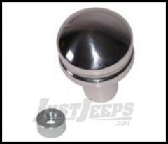 Rugged Ridge Billet Shift Knob without Shift pattern For 1997-06  TJ Wrangler, Rubicon and Unlimited 11420.23
