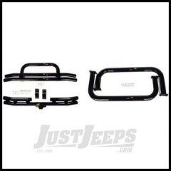 Rugged Ridge Tubuler Bumper And Nerf Bar Kit, Black, 1987-06 Jeep Wrangler YJ TJ Wrangler 11501.04
