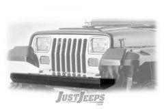 Rugged Ridge Classic Rock Crawler Front Bumper (Textured Black) For 1987-06 Jeep Wrangler YJ, TJ & TJ Unlimited Models 11502.20