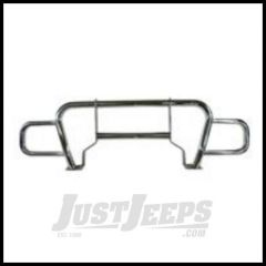 Rugged Ridge Black Defender Grille Guard 1997-06 TJ Wrangler, Rubicon and Unlimited 11510.01