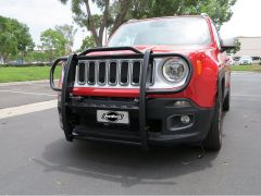 Rugged Ridge (Black) Grille Guard For 2015-18 Jeep Renegade BU Models 11513.04