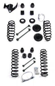 """TeraFlex 4"""" Lift Kit Basic Without Shocks For 2007-18 Jeep Wrangler JK 2 Door 1151421"""