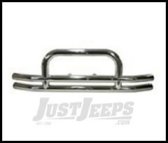 Rugged Ridge Front Tube Bumper with Hoop Stainless steel For 1955-06 Wrangler and CJ 11520.01