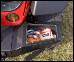 Rugged Ridge Modular XHD Front Bumper Storage End Sections in Textured Black For 2007-18 Jeep Wrangler JK 2 Door & Unlimited 4 Door Models 11540.22