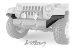 Rugged Ridge Modular High Clearance Ends For XHD Bumper For 2007-18 Jeep Wrangler JK 2 Door & Unlimited 4 Door Models 11540.24