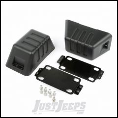 Rugged Ridge Tow Point Cover For XHD Front Bumpers For 2007-18 Jeep Wrangler JK 2 Door & Unlimited 4 Door Models 11540.26