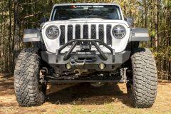 Rugged Ridge HD Stubby Front Bumper For 2007-18+ Jeep Gladiator JT & Wrangler JK/JL 2 Door & Unlimited 4 Door Models 11540.32