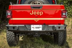 Rugged Ridge HD Rear Bumper For 2020+ Jeep Gladiator JT 4 Door Models 11540.37