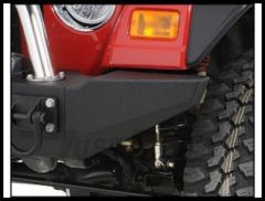 Rugged Ridge Modular XHD Front Bumper End Sections in Textured Black 1976-2006 Wrangler YJ TJ and CJ Series 11540.42