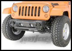 Rugged Ridge (Black) Front Aluminum Bumper Base For 2007-18 Jeep Wrangler JK 2 Door & Unlimited 4 Door Models 11541.02
