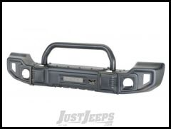 Rugged Ridge Sparticus Front Bumper (With Hoop) For 2007-18 Jeep Wrangler JK 2 Door & Unlimited 4 Door Models 11544.09
