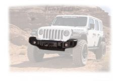 Rugged Ridge Spartacus Front Bumper With Winch Plate For 2018+ Jeep Wrangler JL 2 Door & Unlimited 4 Door Models 11544.23