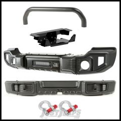 Rugged Ridge Sparticus Overrider Front & Rear Bumper Kit For 2007-18 Jeep Wrangler JK 2 Door & Unlimited 4 Door Models 11544.62