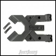 Rugged Ridge Spartacus HD Hinged Carrier For 07+ Jeep Wrangler & Wrangler Unlimited JK 11546.51