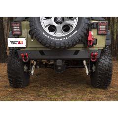 Rugged Ridge Rear Spartan Bumper For 2007-18 Jeep Wrangler JK 2 Door & Unlimited 4 Door Models 11548.21