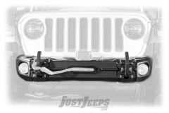 Rugged Ridge Arcus Front Bumper With Winch Tray & Tow Hooks For 2018+ Jeep Gladiator JT & Wrangler JL 2 Door & Unlimited 4 Door Models 11549.04