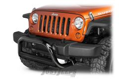 "Rugged Ridge 3"" Black Powder Coated Bull Bar For 2007-18 Jeep Wrangler JK 2 Door & Unlimited 4 Door Models 11564.02"