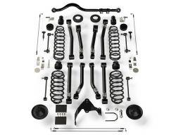 "TeraFlex 4"" Suspension System With 8 Full FlexArm With No Shocks For 2007-18 Jeep Wrangler JK 2 Door 1156403"