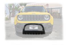 "Rugged Ridge 2.5"" Black Bull Bar For 2015+ Jeep Renegade Models 11565.13"