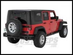 Rugged Ridge Rear Tube Bumper Textured Black For 2007-18 Jeep Wrangler JK 2 Door & Unlimited 4 Door Models 11571.10