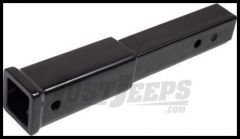 "Rugged Ridge Rear Hitch 12"" Extension in Black Powder Coat 11580.50"