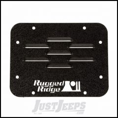 Rugged Ridge Tire Carrier Delete Plate For 2007-18 Jeep Wrangler JK 2 Door & Unlimited 4 Door Models 11586.10