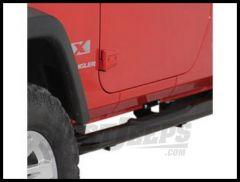 Rugged Ridge Side Step Bars Gloss Black For 2007-18 Jeep Wrangler JK 2 Door Models 11590.05