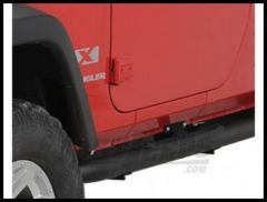 Rugged Ridge Side Step Bars Textured black powder coat 2007-18 Jeep Wrangler JK 2 Door Models 11591.05