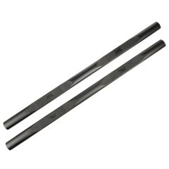 Rugged Ridge 4-Inch Oval Side Steps In Textured Black For 2020+ Jeep Gladiator JT 4 Door Models 11591.15