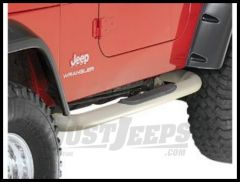 Rugged Ridge Side Step Bars Titanium for 1997-06 TJ Wrangler and Rubicon 11592.04
