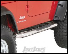 Rugged Ridge Side Step Bars Stainless Steel for 87-95 Jeep Wrangler YJ 11593.03