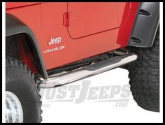 Rugged Ridge Side Step Bars Stainless Steel for 1997-06 TJ Wrangler and Rubicon 11593.04