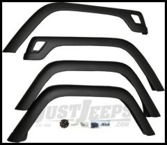 Rugged Ridge 4 Piece Fender Flare Kit with Hardware (Stock Width) TJ Jeep Wrangler 1997-2006 11603.12