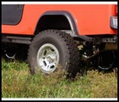 Rugged Ridge Replacement Fender Flare Driver side rear For 1981-86 CJ8 11604.03