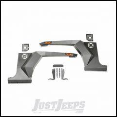 Rugged Ridge (Black) Front XHD Steel Body Armor Fenders For 2007-18 Jeep Wrangler JK 2 Door & Unlimited 4 Door Models 11615.01