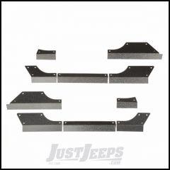 Rugged Ridge Steel Body Armor Cladding For 2007-18 Jeep Wrangler JK 2 Door Models 11615.11