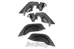 Rugged Ridge All Terrain Wheel Well Liners For 2007-18 Jeep Wrangler JK 2 Door & Unlimited 4 Door Models 11620.50