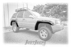 """Rugged Ridge All-Terrain 6"""" Fender Flare Kit For 1993-98 Jeep Grand Cherokee ZJ Models 11635.10"""