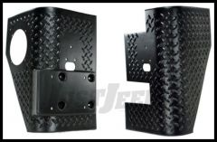Rugged Ridge Rear Corner Guards Bushwacker Flare Compatible 1997-06 TJ Wrangler and Rubicon 11650.02