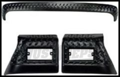 Rugged Ridge 3 Piece Body Armor Kit 1997-06 TJ Wrangler, Rubicon and Unlimited 11650.52
