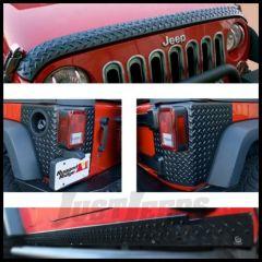 Rugged Ridge Body Armor Kit For 2007-18 Jeep Wrangler JK 2 Door Models 11651.51